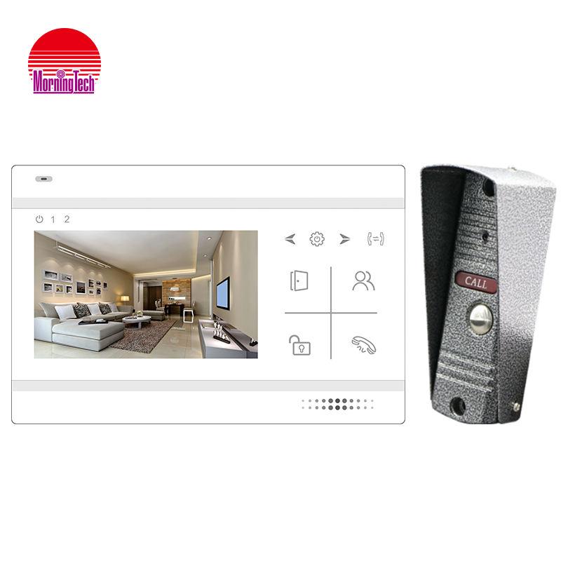 Chine fournisseur appartements système d'interphone ip interphone vidéo visiophone pour la sécurité à la maison