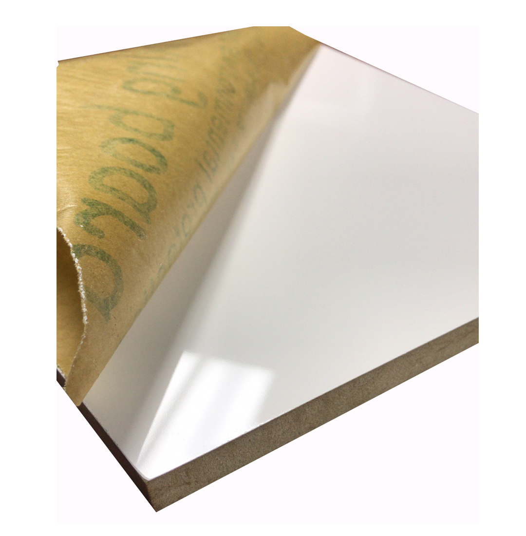 18mm E1 color <span class=keywords><strong>blanco</strong></span> <span class=keywords><strong>mdf</strong></span> de alto <span class=keywords><strong>brillo</strong></span>