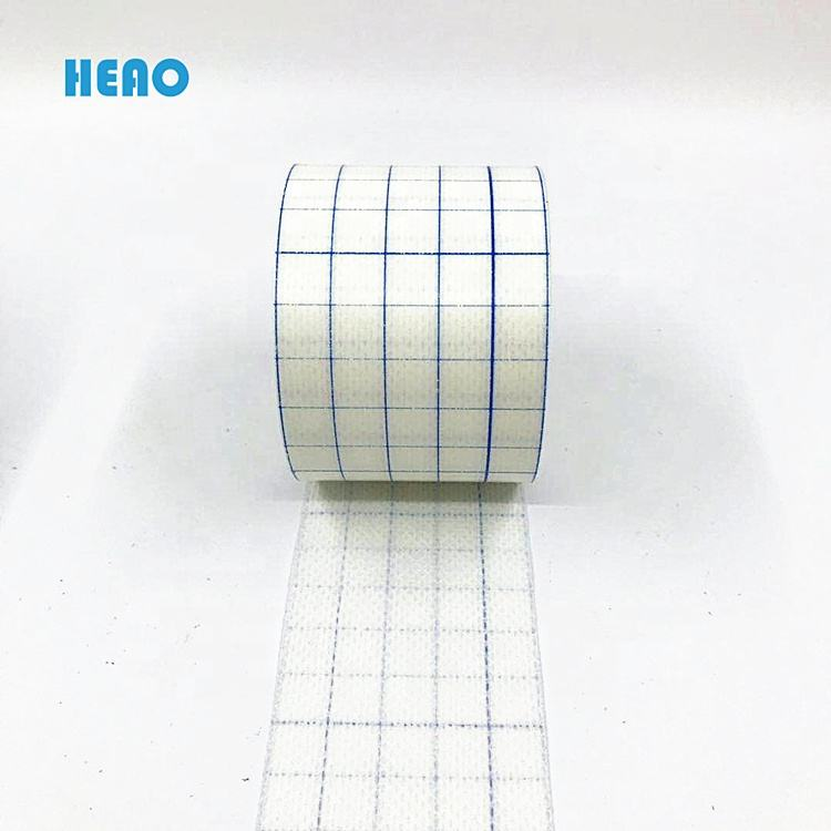Medical consumable disposable non woven Hot Melt Adhesive tape roll