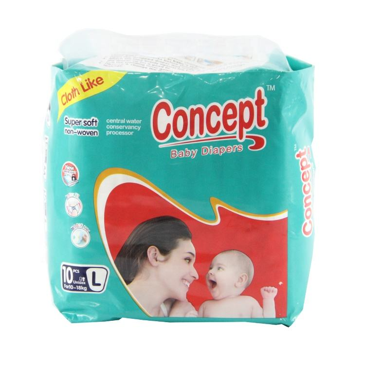 Good quality top selling disposable OEM soft baby diapers in China
