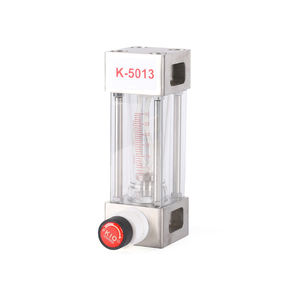 K-5013 variable area vacuum oil air glass tube natural gas steam flow meter
