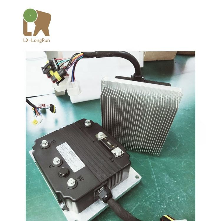 Wholesale OEM 5kw electric converter car bus truck vehicle boat motor Kit and AC motor controller with inverter