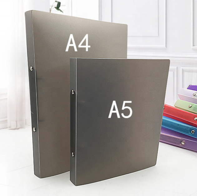 A5 Poly PP Plastic 2 Ring File Binder