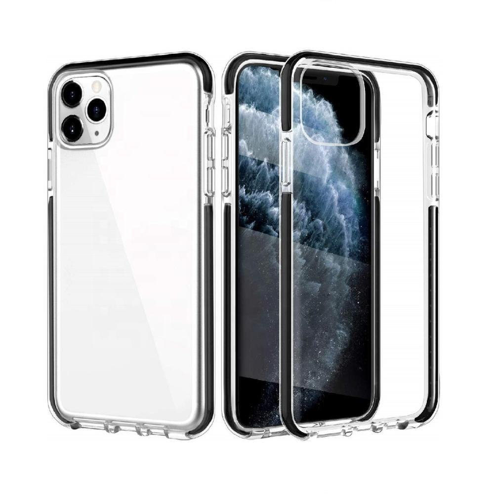 Crystal Clear Reinforced Corners TPE Bumper Soft TPU Shockproof Phone Case For iPhone 11 Pro Max Case 2019
