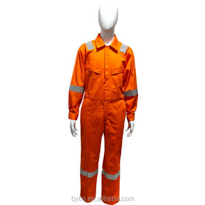 Year - End Sale Workwear FR Fire Retardant Safety Coverall Nomex Coverall Working Uniform Coverall