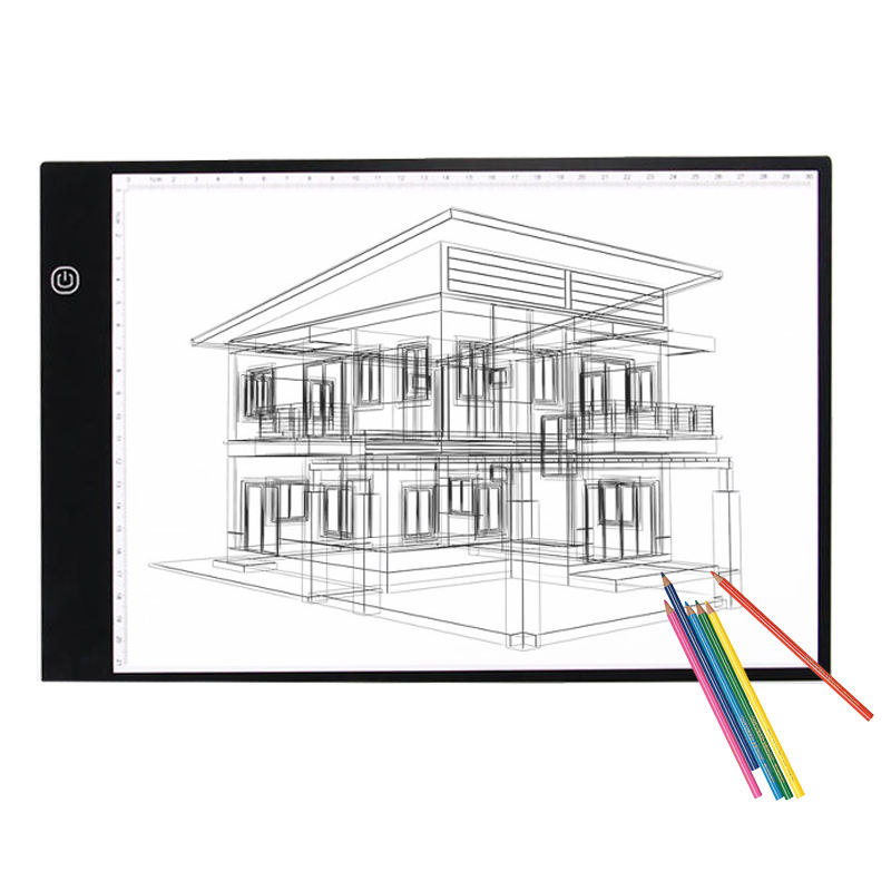 A0 A1 A2 A3 A4 LED Writing Drawing Tablet Tracing Pad OEM/ODM Acrylic Panel Light box High Brightness led drawing graphic board