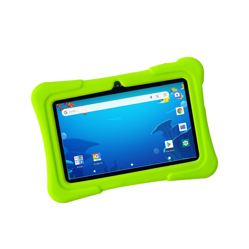 <span class=keywords><strong>Goedkope</strong></span> <span class=keywords><strong>Exw</strong></span> Oem 7 Inch Quad Core Kids Tablet Pc Met Silicon Case En Stand Android Wifi Tablet Voor School