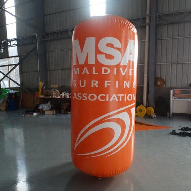 advertising inflatable marker Inflatable floating buoy water tube for sale