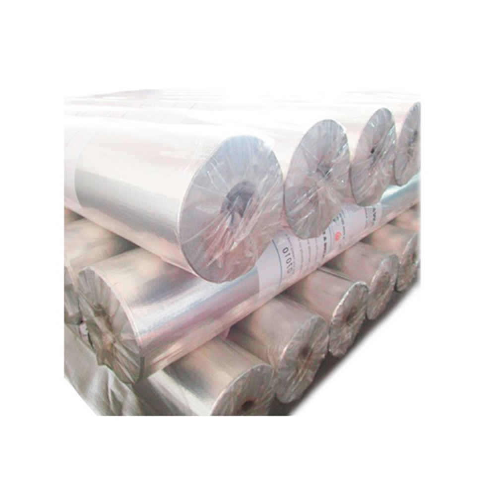 Heat Insulation Reflection Vapor Barrier Double Sided Reflective Aluminium Woven Foil Rolls (K750A) Supplier in Malaysia