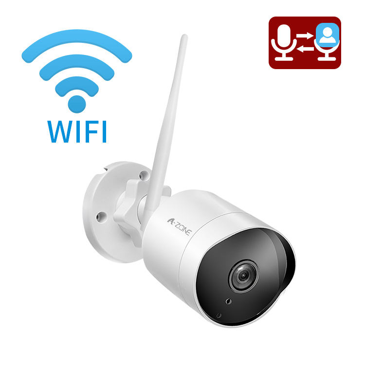 Night Vision 1080p Waterproof CCTV Camera Outdoor Wi Fi Bullet Security Camera