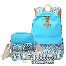 Kids Casual Travel Daypack Rucksack Student Backpack Shoulder Bag School Backpack Set