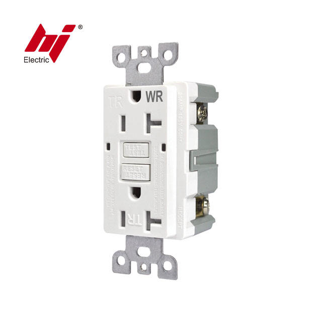 Cheap UL Listed 20 AMP American Electrical Weather Resistance GFCI Outlet