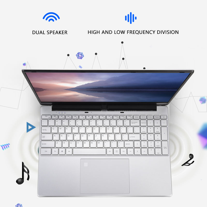 2019 new model toposh netbooks i3-5005u mental body with 8g ram 256g ssd refurbished pc laptops computer in stock