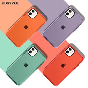 New For Iphone 11 6.1 TPE TPU Case For Iphone 11 Cases For Rubber Bumper Case Cover For Iphone 11 pro max 6.5