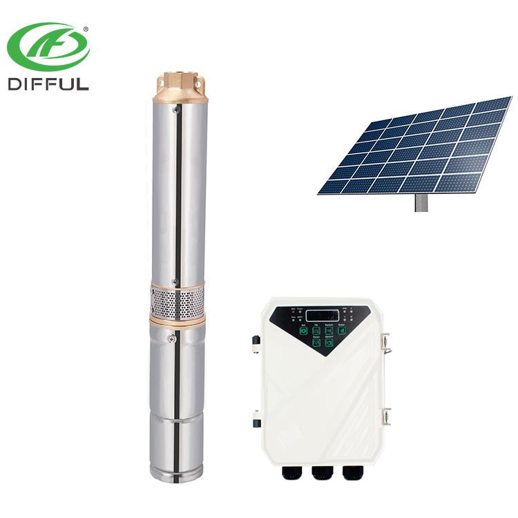 3inch dc submersible well water pump solar water pump for agriculture