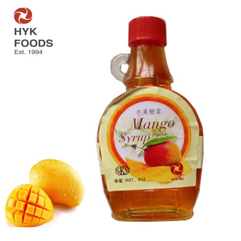 mango flavor syrup for juice candy bread
