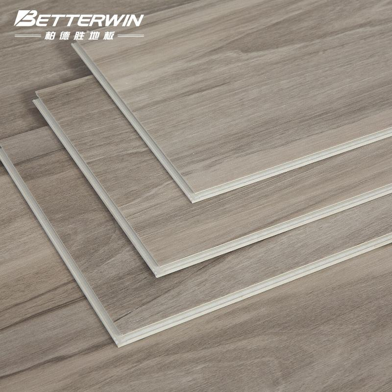 Click Wooden Color Waterproof Stone Plastic Slatted Floor Spc Rigid Vinyl Plank Flooring