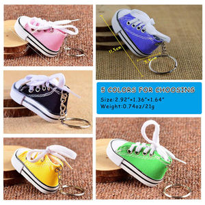 Air 2D Kobe Cute Power Bank Little New Fashion Charms Tennis Pvc Mini Crocs 3D Sneaker Shoe Key Ring Keychain With Box