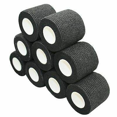 Tattoo Adhesive Bandage Wrap Sensi-Wrap Grip Tape BLACK 2""