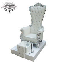 Whirlpool jet foot spa throne chair pedicure manicure chair for beauty salon CB-FP003