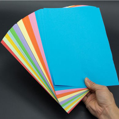 Customized Size Color Copy Paper A4 Colored Paper