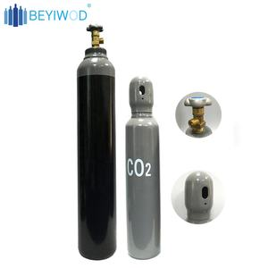 Beyiwod Industri Oksigen/CO2/Argon 40L 50L Seamless Steel Cylinder Tabung Gas
