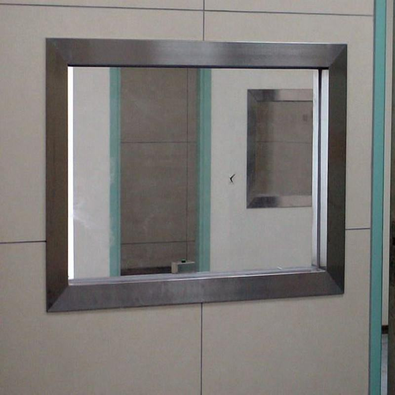 Radiation Protection Lead Glass 200mm*300mm *12mm for CT xray shielding room