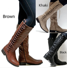 UP-0600D Wholesale Warm Winter Thigh High Knee Boots For Women