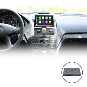Sans fil Apple Carplay Radio D'interface Automobile pour 2007-2011 Mercedes W204 NTG4.0 Android Auto Miroir Voiture Jouer Boîte Intelligente