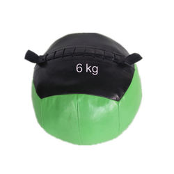 Gym Equipment PU Leather Soft heavy Medicine Ball