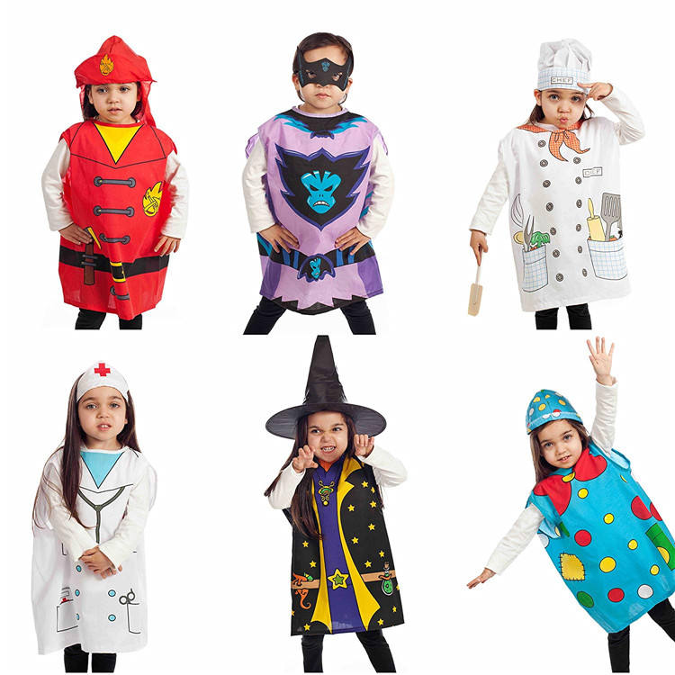 Party Costumes Western Funny Character Lovely Enchanter Demon Kids Christmas Halloween Party Costume