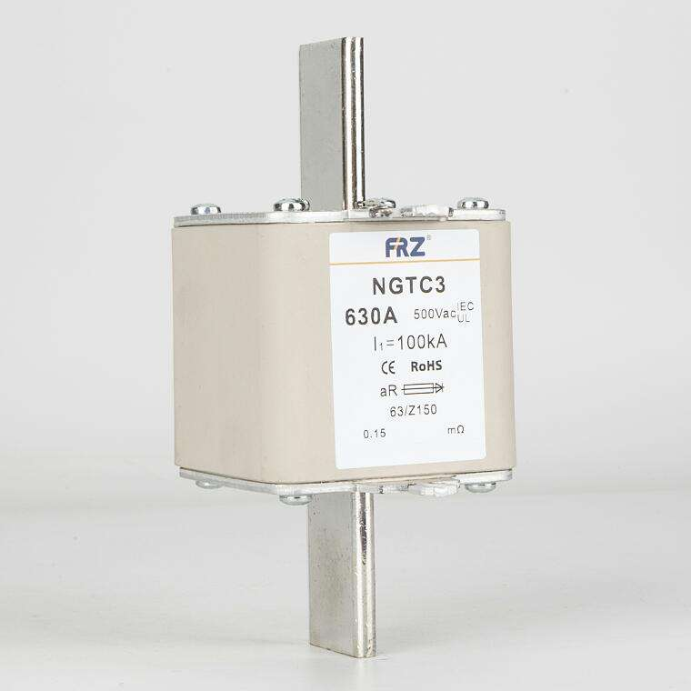 630a ceramic hrc quick fuse for Semiconductor Protection