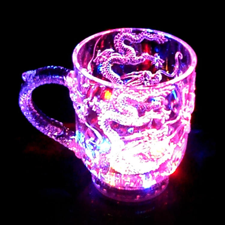 Light-up Drink Wine Hight Quality Party Lighting Mug Water liquid Inductive Beer Glass Acrylic Lighting Bottle LED Glowing Mug