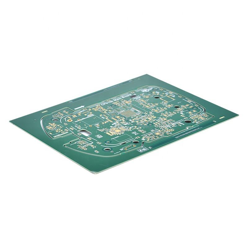 Fast Prototype Custom PCB Circuit Board 8L Multilayer Double PCB for Train Ticketing System