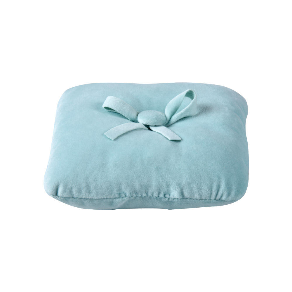 Multi Color Options Small Portable Cute Velvet Baby Pillow