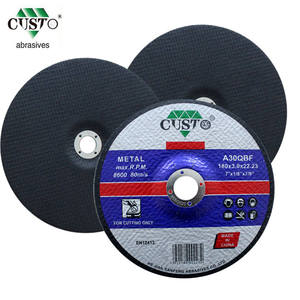 abrasive cutting disc for metal 180mm