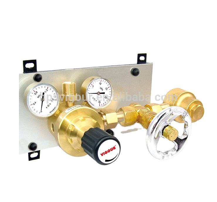 High pressure automatic medical manifold gas pipeline system