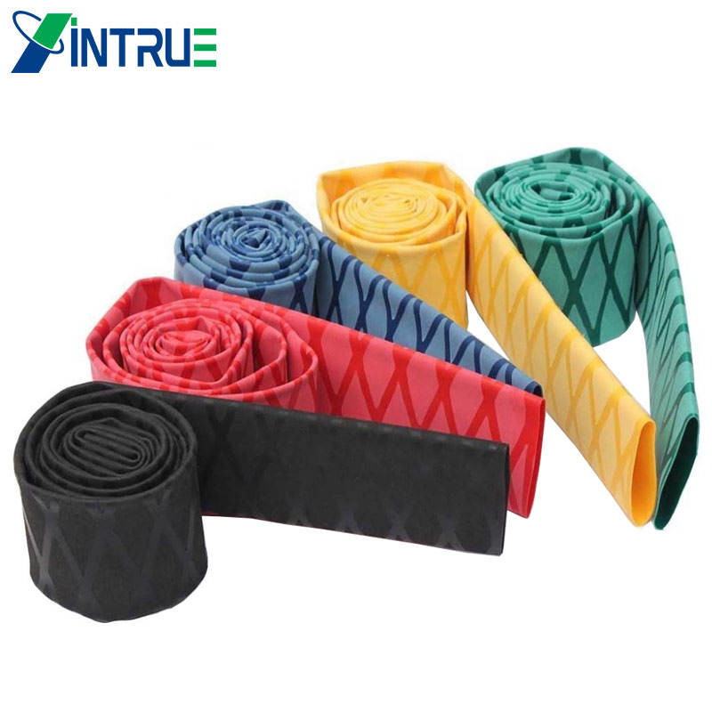 Nonslip, PE, X wrap, heat shrink sleeve for badminton grip, drumstick, fishing rod