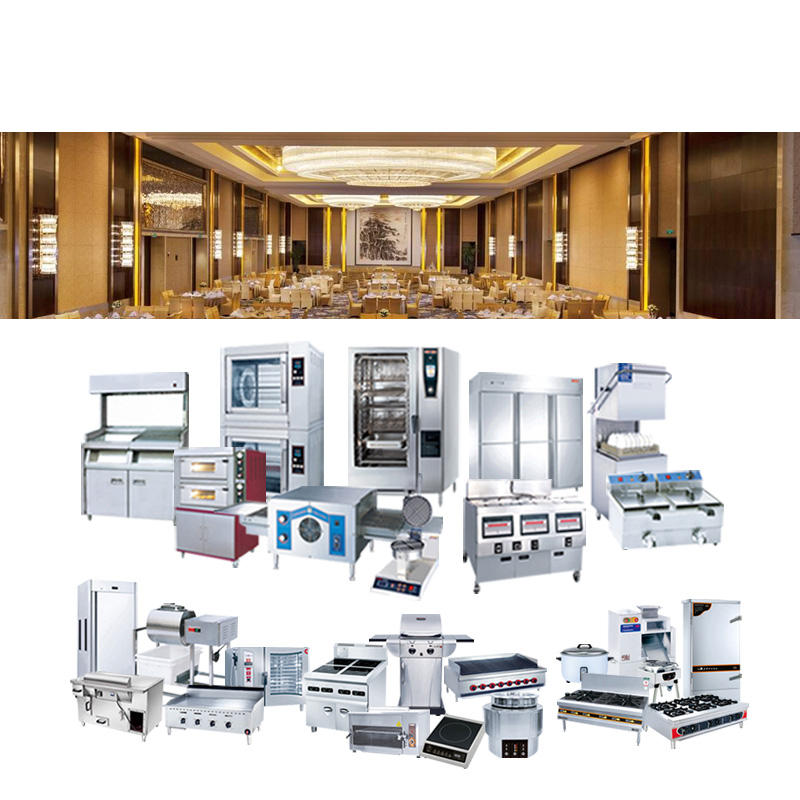 Restaurant suppliers resorts project new series catering equipment china