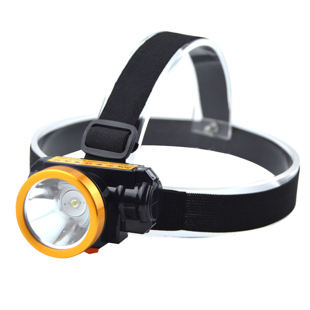 Factory Provide 3W Water proof long distance warm white led headlight head lamp Headlamps rechargeable For Camping Hunting