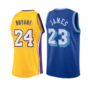 LeBroİn James Kobe Bryant 2021 new Jersey 3 Anthony Davis Broderie Ville Maillot de Basket-Ball