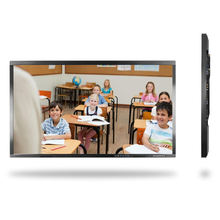 65 inch IR multi touch screen whiteboard interactive flat panel
