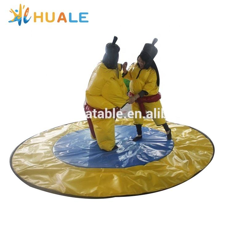 Adults and kids inflatable sumo wrestling suits for sale