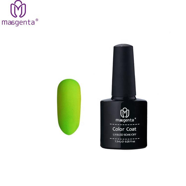 Fecha de <span class=keywords><strong>Diseño</strong></span> de Arte de uñas barniz de uñas de Gel, laca de Color neón resplandor en el oscuro fluorescente brillante