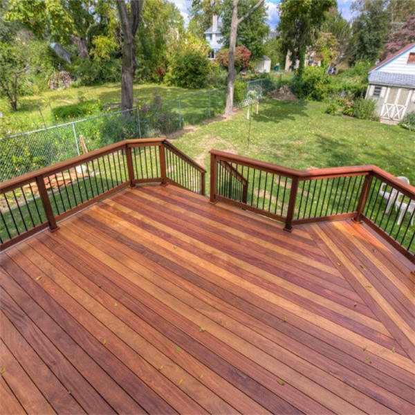 S4S natural cumaru outdoor hardwood outdoor flooring