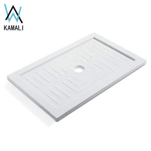 Kamali Germany CORAIN receveur de douche cupc custom culture marble deep shower base stainless steel cast iron shower pan
