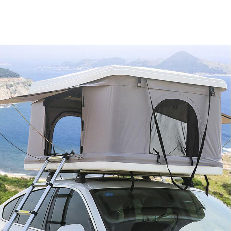 Outdoor Camping Traveling Canvas Tent Automatic Pop Aluminium Suv Hard Shell Auto Rooftop Car Roof Top Tents