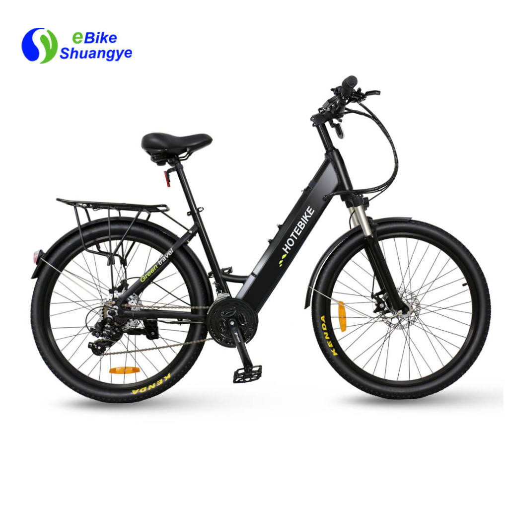 "36v lithium battery 26"" alloy frame city e bike 36v 250w 350w electric bicycle 48v 500w 28 inch"