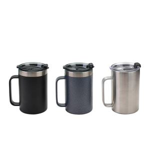 24oz Amazon hot selling stainless steel coffee cups promotion beer mugs