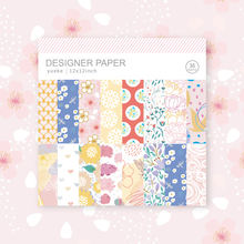 scrapbook craft supplies custom 12x12inch cardstock story flower paper pad vellum paper scrapbook collection scrapbook album